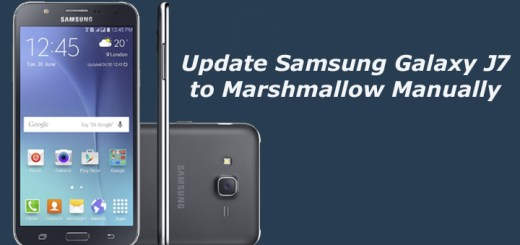 Update Samsung Galaxy J7 to Marshmallow Manually