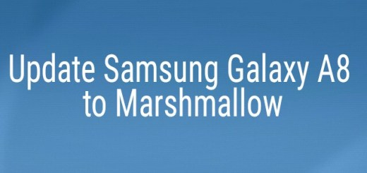 Update Samsung Galaxy A8 to Marshmallow