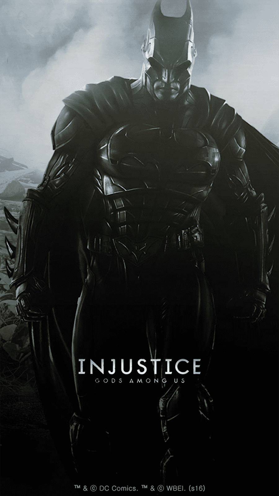 Download galaxy s7 edge injustice edition stock wallpapers batman injustice theme voltagebd Image collections