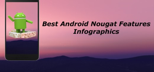 Best Android Nougat Features Infographics