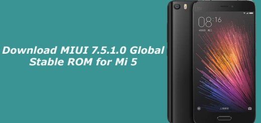 Download MIUI 7.5.1.0 Global Stable ROM for Mi 5