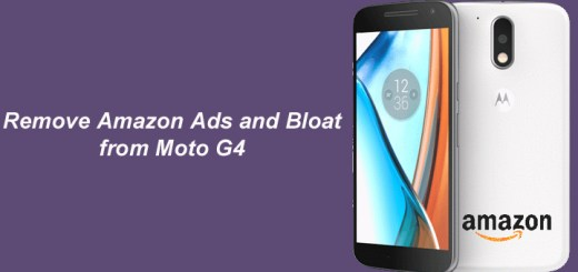 How to Remove Amazon Ads and Bloatware from Moto G4