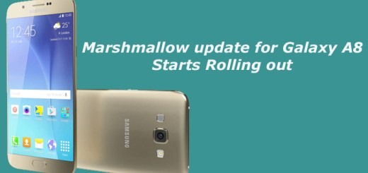 Marshmallow update for Galaxy A8 Starts Rolling out