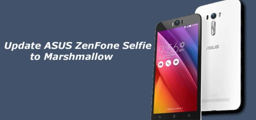 Update ASUS ZenFone Selfie to Marshmallow