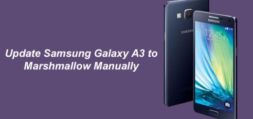 Update Samsung Galaxy A3 to Marshmallow Manually