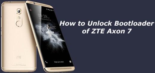 How to Unlock Bootloader of ZTE Axon 7