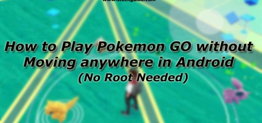 Play Pokemon GO Without Going Anywhere