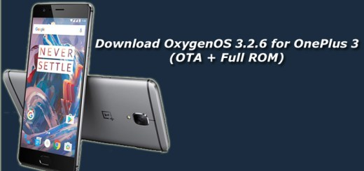 Download OxygenOS 3.2.6 for OnePlus 3 (OTA + Full ROM)