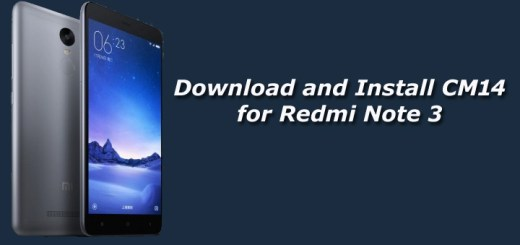 Download and Install Unofficial CM14 for Redmi Note 3