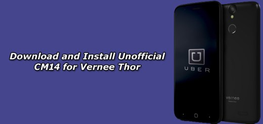 Download and Install Unofficial CM14 for Vernee Thor