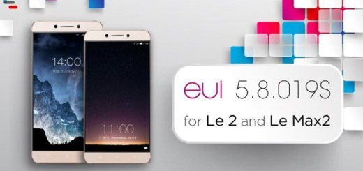 Update LeEco Le Max 2 and Le 2 to eUI 5.8.019s