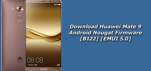 Download Huawei Mate 9 Android Nougat Firmware [B122] [EMUI 5.0]