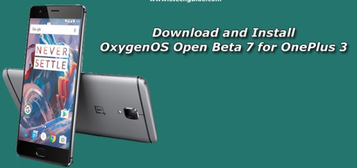 Download and Install OxygenOS Open Beta 7 for OnePlus 3