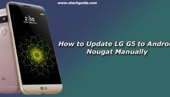 Download LG G4 Android Nougat Firmware (Nougat KDZ)(F500k/L/S)