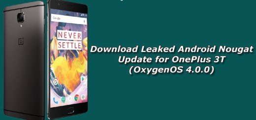 Download Leaked Nougat Update for OnePlus 3T (OxygenOS 4.0.0)