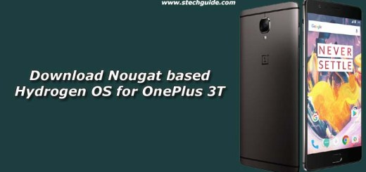 Download Nougat based Hydrogen OS for OnePlus 3T