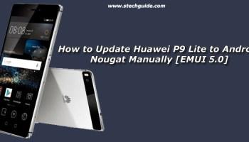Download Huawei P9 Lite Android Nougat Update [B336] [Europe]