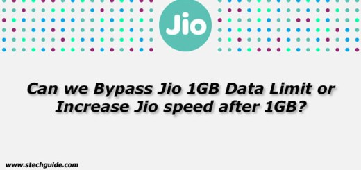 Can we Bypass Jio 1GB Data Limit or Increase Jio speed after 1GB?