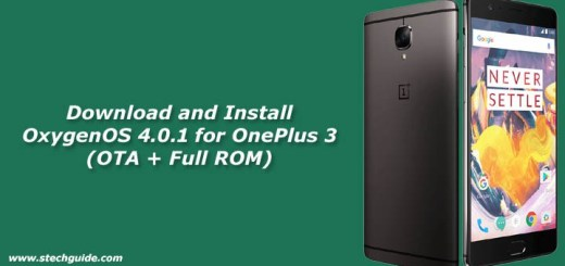 Download OxygenOS 4.0.1 for OnePlus 3 (OTA + Full ROM)