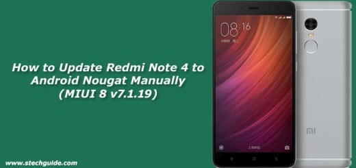 How to Update Redmi Note 4 to Android Nougat Manually (MIUI 8 v7.1.19)