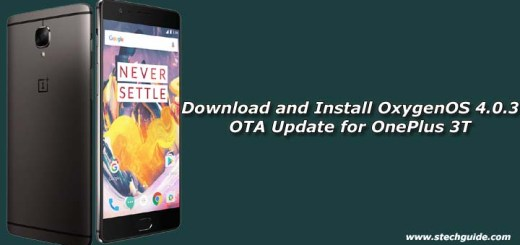 Download and Install OxygenOS 4.0.3 OTA Update for OnePlus 3T