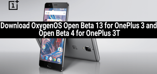Download OxygenOS Open Beta 13 for OnePlus 3 and Open Beta 4 for OnePlus 3T