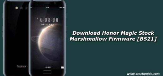 Download Honor Magic Stock Marshmallow Firmware [B521]