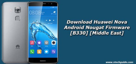 Download Huawei Nova Android Nougat Firmware [B330] [Middle East]
