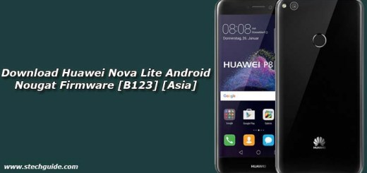Download Huawei Nova Lite Android Nougat Firmware [B123] [Asia]