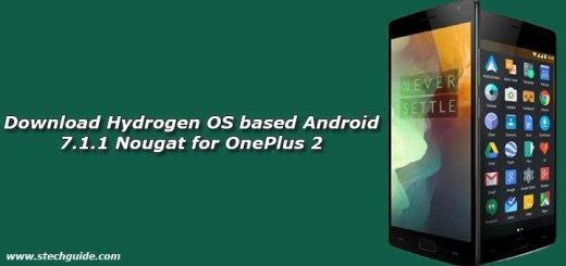 Download Hydrogen OS based Android 7.1.1 Nougat for OnePlus 2