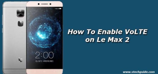 Enable VoLTE on Le Max 2