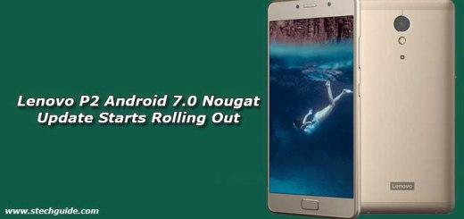 Lenovo P2 Android 7.0 Nougat Update Starts Rolling Out