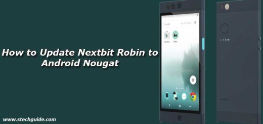 Update Nextbit Robin to Android Nougat