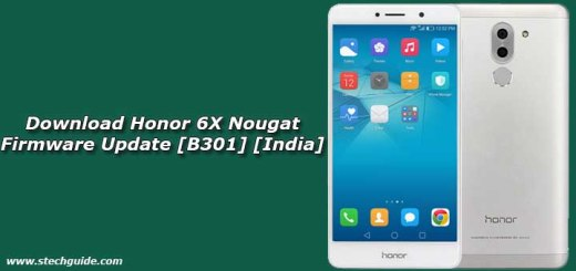 Download Honor 6X Nougat Firmware Update [B301] [India]