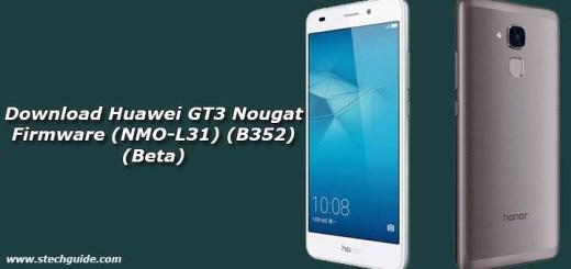 Download Huawei GT3 Nougat Firmware (NMO-L31) (B352) (Beta)