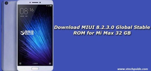 Download MIUI 8.2.3.0 Global Stable ROM for Mi Max 32 GB