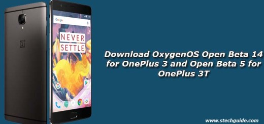 Download OxygenOS Open Beta 14 for OnePlus 3 and Open Beta 5 for OnePlus 3T