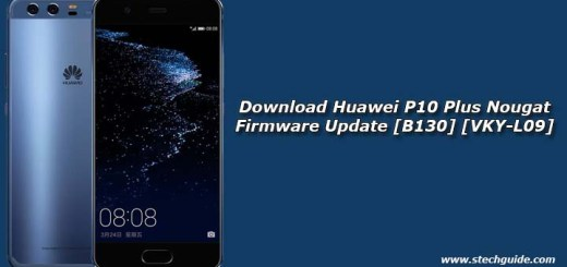 Download Huawei P10 Plus Nougat Firmware Update [B130] [VKY-L09]