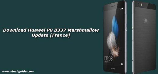 Download Huawei P8 B337 Marshmallow Update [France]
