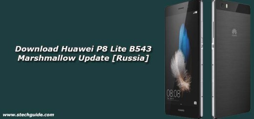 Download Huawei P8 Lite B543 Marshmallow Update [Russia]
