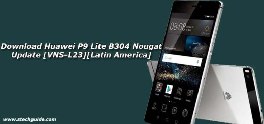 Download Huawei P9 Lite B304 Nougat Update [VNS-L23][Latin America]