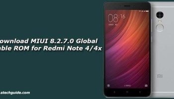 download miui 8.2.9.0 global stable rom for redmi 4x