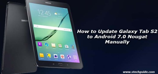 How to Update Galaxy Tab A to Android 7.0 Nougat Manually