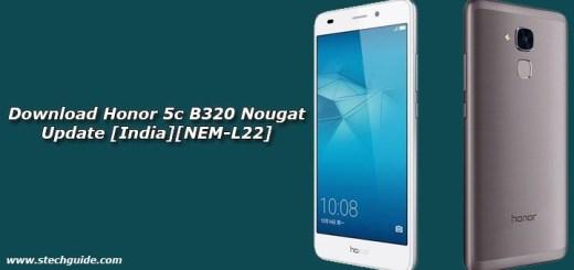 Download Honor 5c B320 Nougat Update [India][NEM-L22]