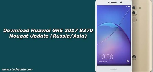 Download Huawei GR5 2017 B370 Nougat Update