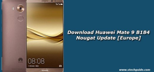 Download Huawei Mate 9 B184 Nougat Update [Europe]