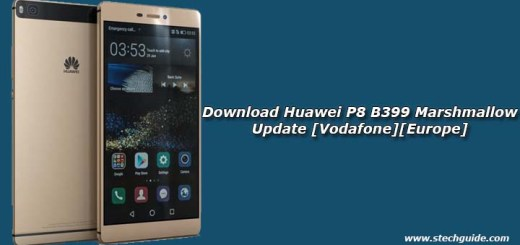 Download Huawei P8 B399 Marshmallow Update [Vodafone][Europe]