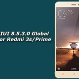 Download MIUI 8.5.3.0 Global Stable ROM for Redmi 3s/Prime