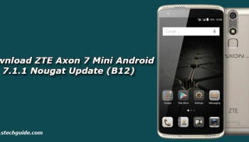Download ZTE Axon 7 Android 7 1 Nougat Update (MiFavor 4 2)(B13)