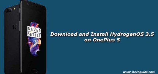 Download and Install Hydrogen OS 3.5 on OnePlus 5